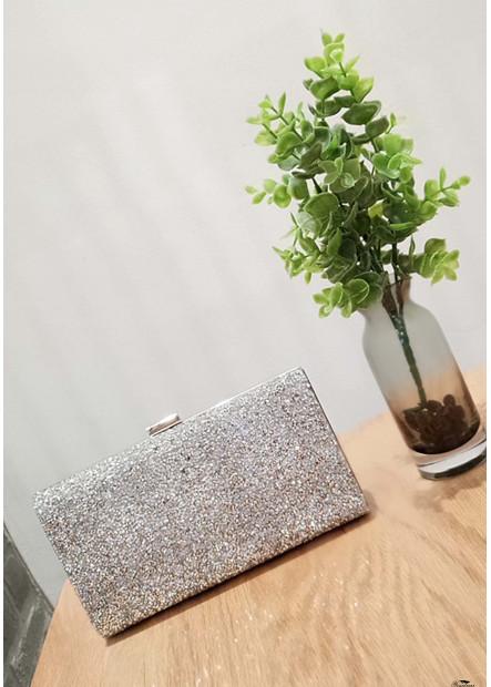 High-Grade Shiny Rhinestone One Shoulder Diagonal Handbags T901556161641