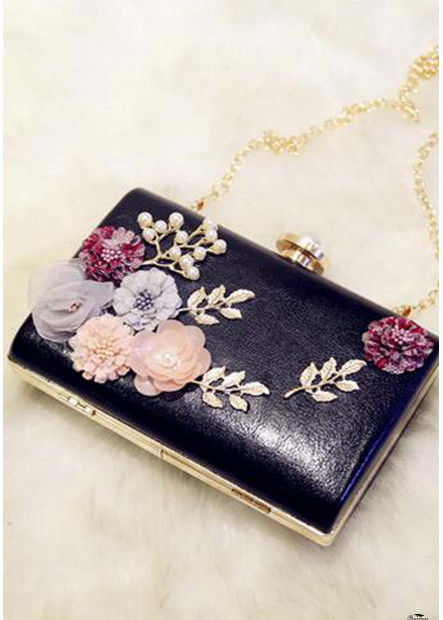 PU Small Square Bag Soft Face Popular Lock Handbags T901556244962