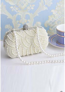 New Luxury Diamond-Set Pearl Handbags T901556068854