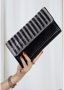 New Striped Diamond One Shoulder Slung Handbags T901556095655