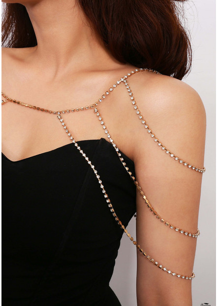 Exaggerated Shawl Chains T901556422957