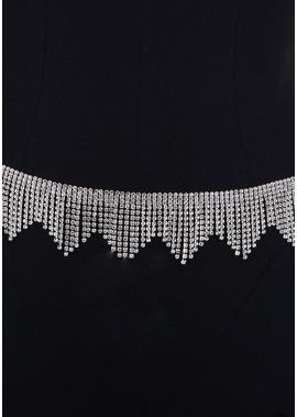 Alloy Full Diamond Waist Chains T901556508259