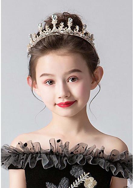 Golden Pearl Headband Tiaras T901556679929