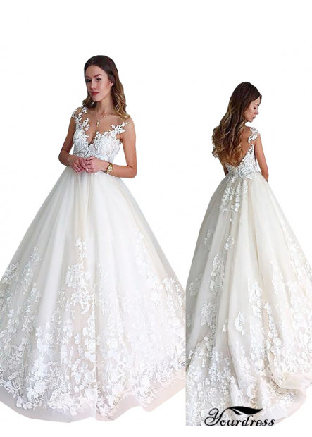 Yourdress 2021 Ball Gowns Custom Bridal Gowns UK