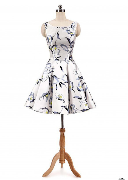 Printed Fashion Party Dresses T901553584868