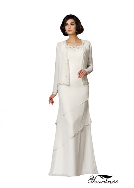 Yourdress Long White Mother Of The Bride Outfit UK For Sale