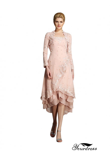 Yourdress Mother Of The Bride Dress With Shoulder Detail