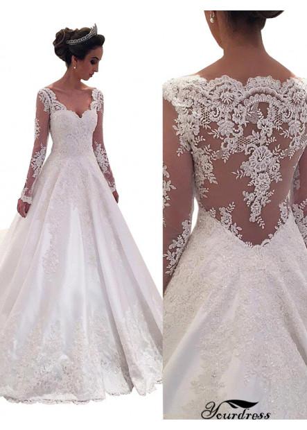 Yourdress 2021 Cheap Wedding Dresses For Garden Wedding
