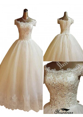 Yourdress 2021 Plus Size Ball Gowns