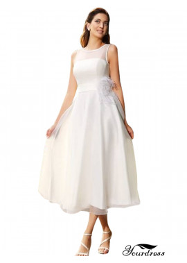 Yourdress 2021 Short Wedding Dress