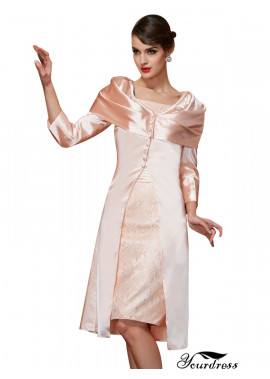 Mother Of The Bride Dresses With Jackets Knee Length