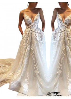 Yourdress 2021 Beach Wedding Dresses