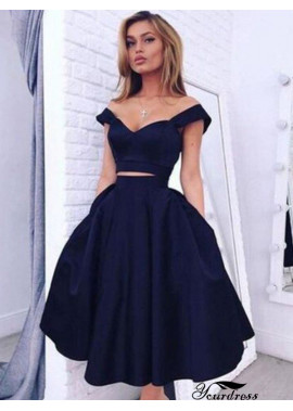 Yourdress 2 Piece Short Homecoming Prom Evening Dress
