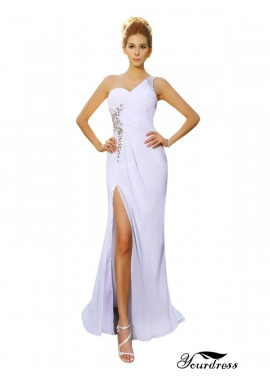 One Shoulder Chiffon Wedding Dresses Sale