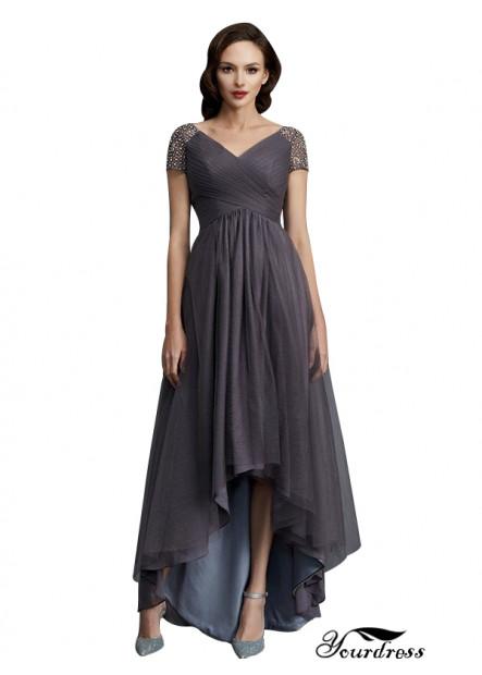 Yourdress Mother Of The Bride Dress Front Short Back Long