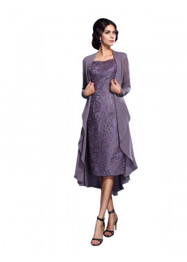 Short Chiffon Mother Of The Bride Dresses For Wedding