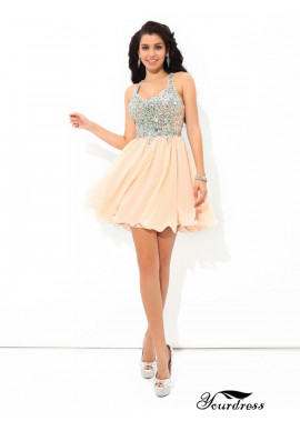 Yourdress Sexy Short Homecoming Prom Evening Dress