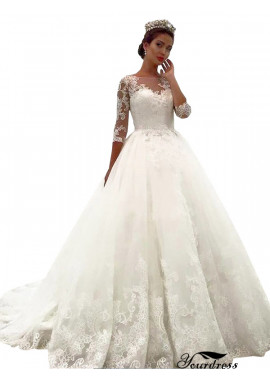 Yourdress 2020 Lace Ball Gowns