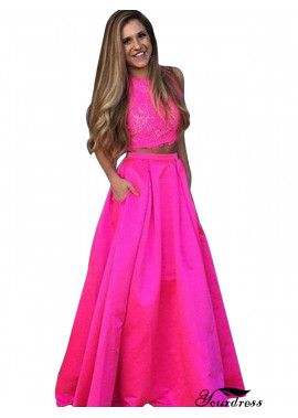 Yourdress Two Piece Long Prom Evening Dress