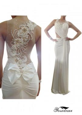 Yourdress Mermaid Long Wedding Evening Dress