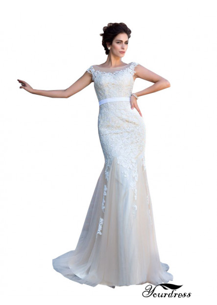 Yourdress Sexy Lace Mermaid Wedding  / Evening Dress