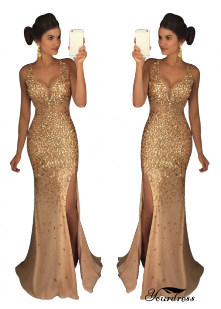 Yourdress The Gold Long Prom Evening Dress