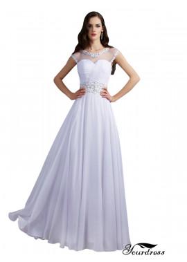 Yourdress Beach Long Wedding Evening Dresses