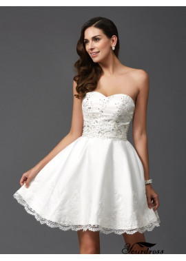 Yourdress Short Wedding / Prom Evening Dress