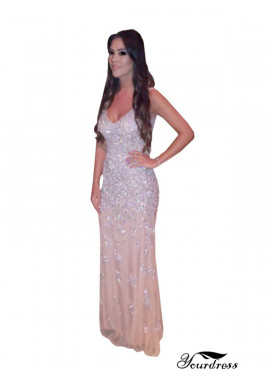 Tmdress Mermaid Long Prom Evening Dress