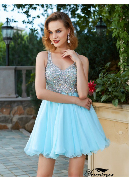 Yourdress Short Homecoming Prom Evening Dress