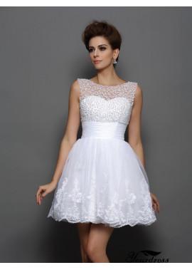 Yourdress Sexy Short Wedding / Prom Evening Dress