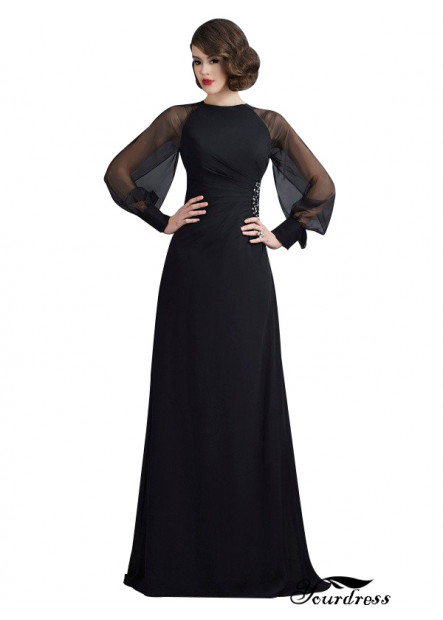 Yourdress Long Black Mermaid Prom Dress With Train UK