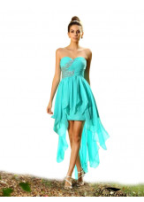 2021 Short  Blue Bridesmaid Dresses UK Sale