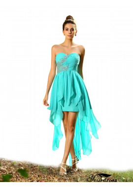 2021 Short  Blue Bridesmaid Dresses UK Sale