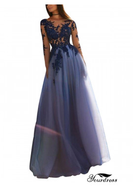Tmdress Sparkly Long Prom Evening Dress