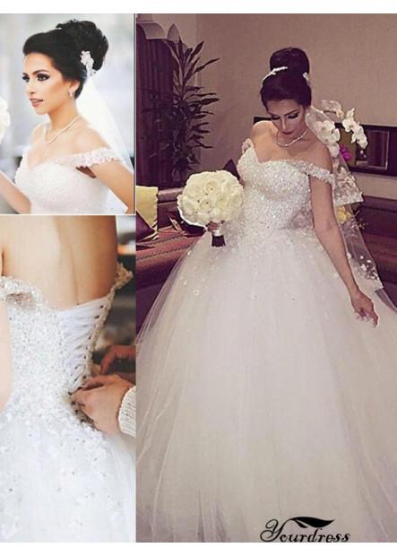 Yourdress 2020 Beach Wedding Ball Gowns