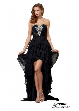 Yourdress High Low Long Prom Evening Dress