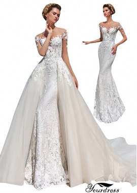 Yourdress Lace Wedding Dress