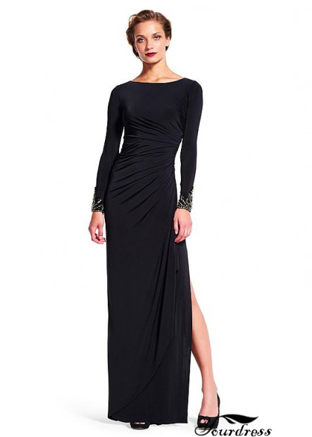Yourdress Black Prom Evening Dress For Bride Mother UK