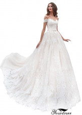 Tmdress Cheap Wedding Gown
