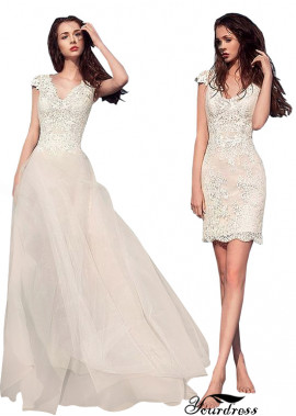 Cheap Lace 2021 Beach Wedding Dress Shops London