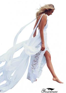 2021 Cheap Simple Beach Wedding Dress UK Online Shop