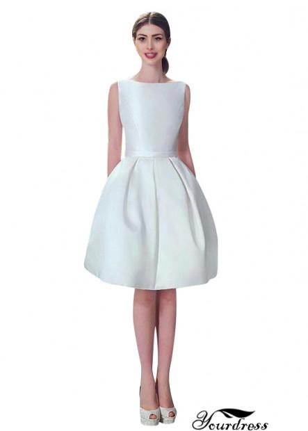 Yourdress Short Wedding Dress
