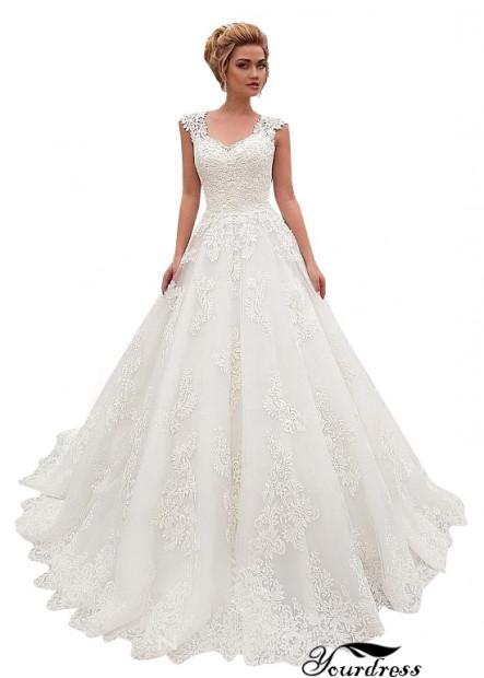 Yourdress Ball Gowns Destination Wedding Bridal Dresses