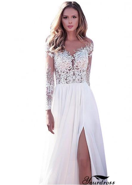 2021 Cheap Beach Wedding Dress