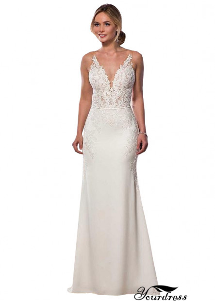 Yourdress Wedding Dress White Bridal Gown In UK