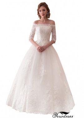 Wedding Dresses UK Cheap Off The Shoulder Bridal Gowns Online