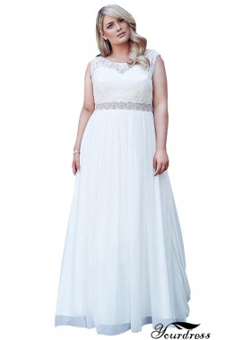 Yourdress Plus Size Long Bridal Gowns Wedding Dresses