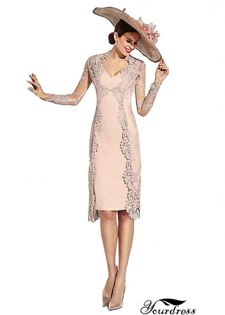 Short Pink Mother Of The Bride Outfits For Wedding With Jackets