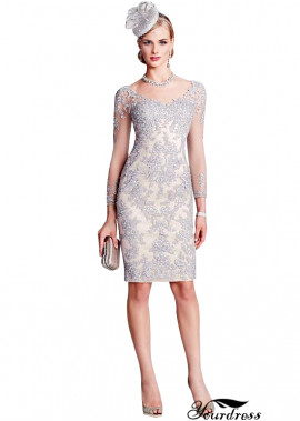 Yourdress Short Sheath Mother Of The Bride Cocktail Dress Online